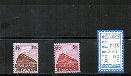 COLIS POSTAUX à Charnière N°187/88B - Colis Postaux