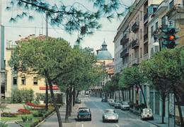 PORSCHE-AUTO-CAR-VOITURE-COCHE-TREVISO-ITALIA- VERA FOTOGRAFIA VIAGGIATA IL 16-7-1969 - Turismo