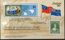 SAMOA 1982 ZEAPEX'80   YVERT  N°B22  NEUF MNH** - Samoa