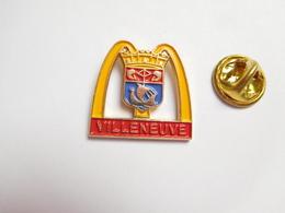 Beau Pin's , McDonald's , McDo , Villeneuve , Blason - McDonald's