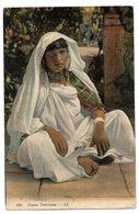 CPA  TUNISIE   ANNEES 1900       FEMME TUNISIENNE - Tunisia