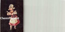 Chromo DUBOIS-MAUPETIT Bressuire 79 - Fillette-infirmière Et Ses Poupées-   - Scans Recto-verso - Trade Cards