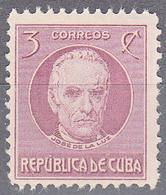 CUBA     SCOTT NO. 267    MNH        YEAR  1917 - Kuba
