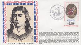 Enveloppe  FRANCE   DAUNOU   Bicentenaire  De  La   REVOLUTION    BOULOGNE  SUR  MER   1989 - Révolution Française