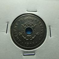 Belgium 10 Centimes 1904 - 1865-1909: Leopold II
