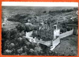 07 SAINT PERAY Vue Aérienne Chateau De Beauregard CIM Dentelée Carte Vierge TBE - Saint Péray