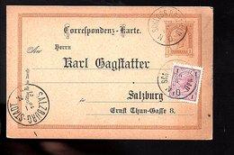 1900 SCHLOSS ROSENAU > Karl Gagstatter Salzburg (574) - Covers & Documents