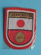 JAPAN / NIPPON : BADGE 7 X 5,5 Cm. () Zie / Voir / See Photo ! - Escudos En Tela