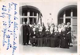 PIE.F.19-9814 : JOUR DE LA LIBERATION DE TOURS A LA PENSION SAINT-MARTIN. SEPTEMBRE 1944. INDRE ET LOIRE. - Lieux