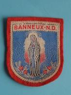 BANNEUX - N.D. : BADGE 7 X 5,5 Cm. () Zie / Voir / See Photo ! - Scudetti In Tela