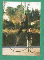 CARTE POSTALE CPM  CYCLE VELO GRAND BI BYCICLETA Rijwiel  Kaartje GAMLE Cykel BICYCLETA - Cycling