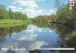 Postal Stationery - Summer Lake Landscape - Red Cross 2003 - Finlandia - Suomi Finland - Postage Paid - Finlande