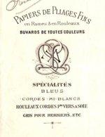MARCEL  Papiers De Pliage Fins, Buvards   LA TOUR Du PIN (Isère)    1891 - Letras De Cambio
