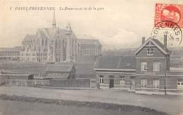 Passy-Froyennes - Le Pensionnat Vu De La Gare - Doornik