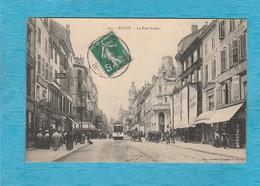 Nancy ( Meurthe-et-Moselle ). - La Rue Saint-Jean. - Tramway. - Nancy