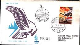 13230a)F.D.C.SAN Marino    Aerei Moderni - POSTA AEREA - 4 Marzo 1965 - FDC