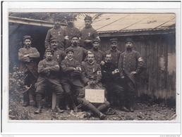 MOURMELON CAMP DE CHALONS : Brancardaient, Militaires - Très Bon état - Camp De Châlons - Mourmelon