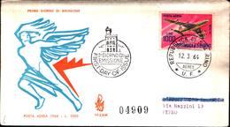 13231a)F.D.C.SAN Marino     Aerei Moderni - POSTA AEREA - 12 Marzo 1964 - FDC