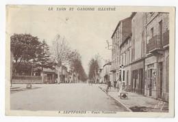 Septfonds Pompe à Essence Alimention Route Nationale Edition S. Dejean, Tabacs - France
