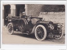 AULT : Automobile Devant Un Garage - Très Bon état - Ault