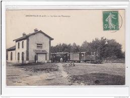 ANGERVILLE : La Gare Des Tramways - Très Bon état - Angerville
