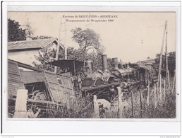 Tamponnement De 1908 Vers Saint Pons Ardouane (accident De Train - Chemin De Fer) - Très Bon état - Frankrijk