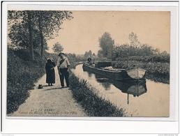 LE BERRY : Canal Du Berry, Le Halage - Etat - France