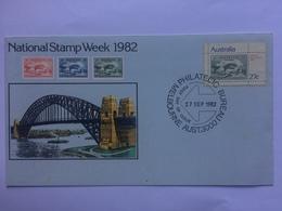 AUSTRALIA 1982 National Stamp Week Illustrated Cover - 1980-89 Elizabeth II