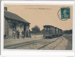 ARGENTRE : Vue De La Gare - Tres Bon Etat - Argentre
