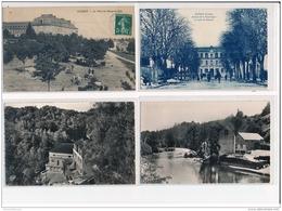 Lot De 79 CPA  De E à M (petites Villes Et Villages) (dont Scènes Animées) - Bon Etat Général - France