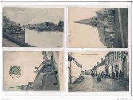 Lot De 57 CPA De L Divers - (petites Villes Et Villages) (dont Scènes Animées) - Bon Etat Général - Francia