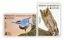 "TURKEY/2019 - EUROPA CEPT ""NATIONAL BIRDS"" (OWL), MNH - 1921-... Republic"