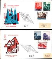13236a)F.D.C.SAN Marino   Veduta Di San Marino - 29 Marzo 1966 - FDC