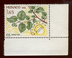 Monaco 1986 - Neuf - Scanné Recto Verso - Y&T N° 79 Préoblitéré - Les Quatre Saisons Du Noisetier - été 1,65 - Préoblitérés