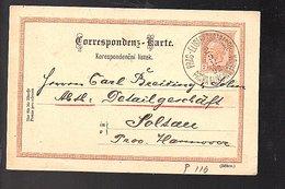1892 PRAG-ELISABETHSTRASSE > Soltenau (588) - Tschechoslowakei/CSSR