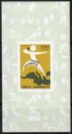 Türkei MiNr. Bl. 15 ** Mittelmeerspiele - 1921-... República
