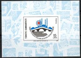 Türkei MiNr. Bl. 18 ** Nationale Jugend-Briefmarkenausstellung EDIRNE `78 - 1921-... República