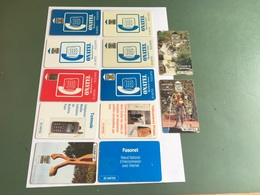 Burkina Faso - 12 Different Phonecards With Chip - Burkina Faso