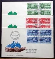 Denmark 1960  Agriculture / Landwirtschaft /   MiNr.378-80  FDC  ( Lot  Ks  )MAGASIN COVER - FDC