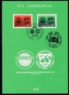 Yugoslavia 1979 / Meeting Of The International Monetary Fund And International Bank / Prospectus, Leaflet, Brochure - Jugoslawien
