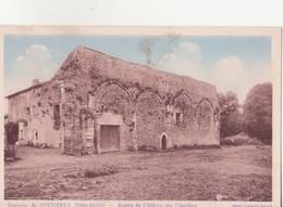 CPA -  Env De COUTIERES - Ruines De L'abbaye Des Chateliers - Thouars