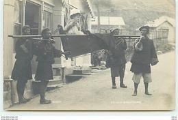 TIBET - Porteurs Portant Une Femme Sur Une Chaise - Dandy - TH Paar Darjeeling - Tibet
