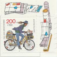 PIA - GER- 1995 : Giornata Del Francobollo - Postino In Bicicletta -  (Yv 1646) - Giornata Del Francobollo