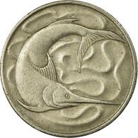 Monnaie, Singapour, 20 Cents, 1967, Singapore Mint, TB+, Copper-nickel, KM:4 - Singapour