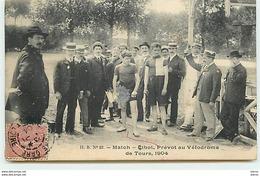 TOURS - Match - Cibot, Prévot Au Vélodrome De Tours 1904 - Tours