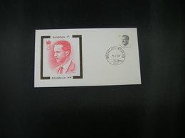 """BELG.1990 2352 FDC (Brux/Brus) : """" Koning Boudewijn / Roi Baudouin """" - 1981-90"""