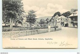 SEYCHELLES - VICTORIA - Corner Of Victoria And Albert Street - Seychelles