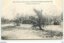 SEYCHELLES - Camp Of Labourers And House Of Lessee At Picault-Island (Aldabra Group) October 1907 - Seychelles