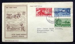 Denmark 1960  Agriculture / Landwirtschaft /   MiNr.378-80  FDC  ( Lot  Ks  ) - FDC