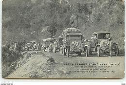 ILES PHILIPPINES - Sur La Benguet Road - Camions Et Auto-cars De DION-BOUTON - Philippines